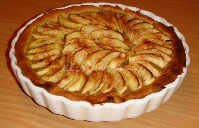 recette tarte alsacienne aux pommes cuisine sant. Black Bedroom Furniture Sets. Home Design Ideas