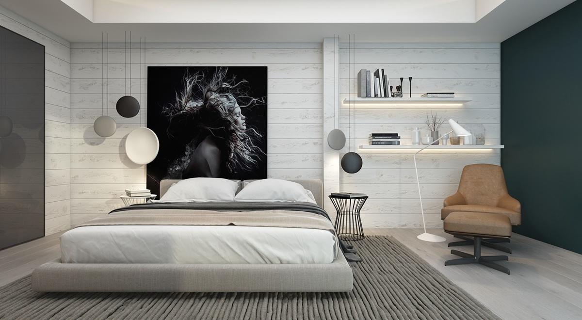 Déco mur chambre à coucher : Quelques inspirations pour créer un ...