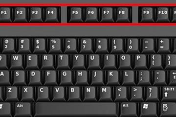 F1 à F12 L'utilité qu'offre ces touches de fonction doit être connue par tous