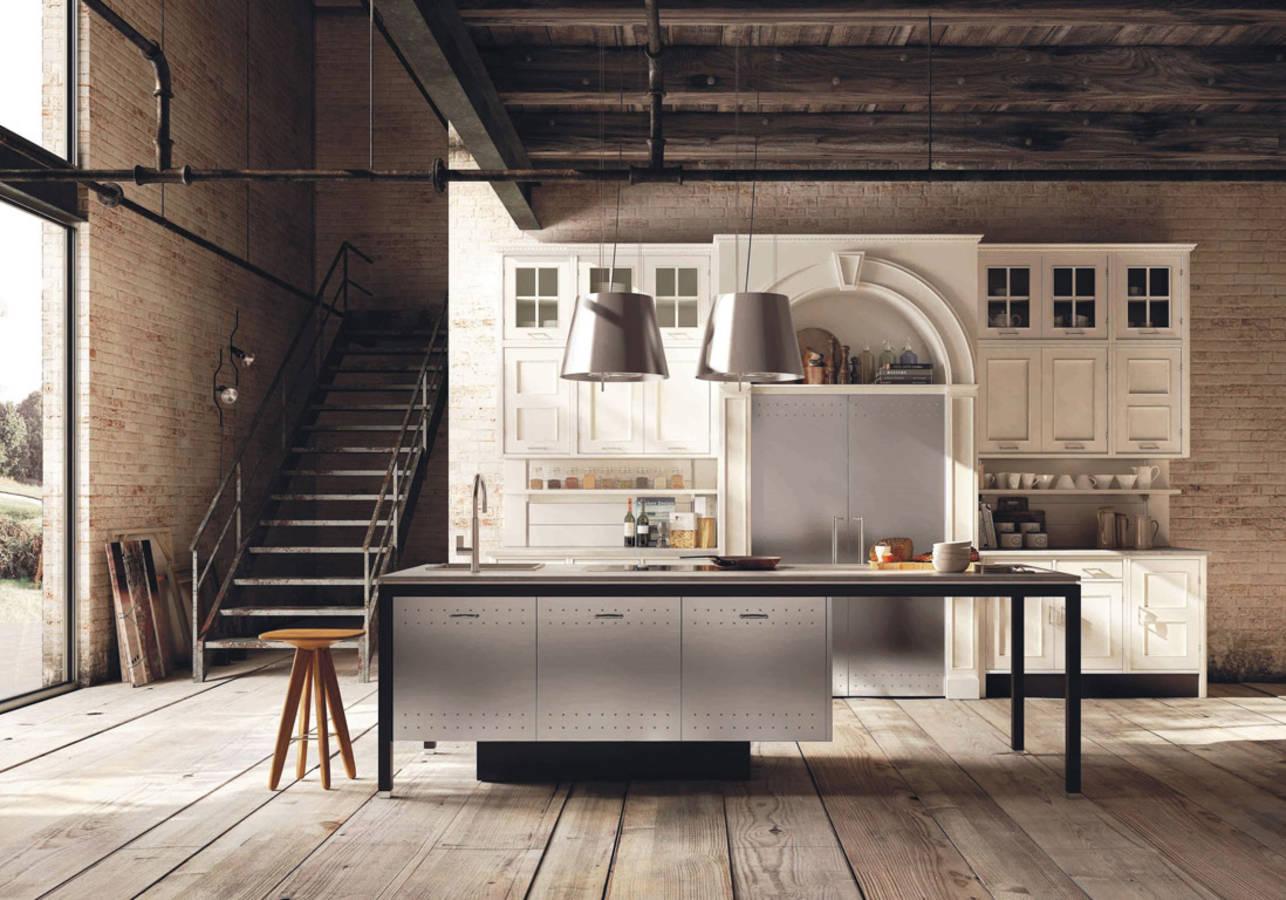 Une-cuisine-campagne-qui-marie-meubles-anciens-et-contemporains ...