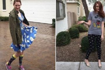 Cette maman laisse son enfant de 3 ans choisir ses tenues pendant une semaine !