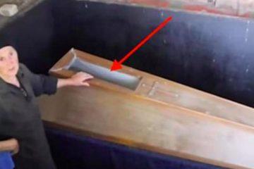 Elle garde précieusement un cercueil à la maison...ce qu'il contient vous donnera des frissons !