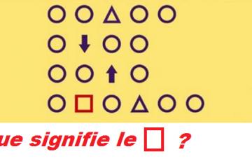 Seuls les plus intelligents seront capables de résoudre cette énigme de logique !