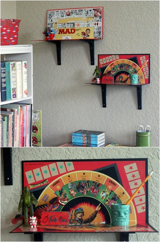 voici quelques id es pour transformer vos jeux de soci t en articles d co cuisine sant. Black Bedroom Furniture Sets. Home Design Ideas