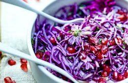 Salade-de-chou-rouge-et-grenade