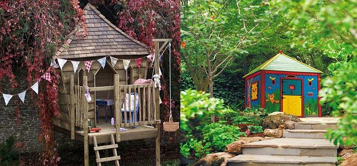 cabane de jardin pour enfant notre s lection des meilleurs projets r aliser soi m me. Black Bedroom Furniture Sets. Home Design Ideas