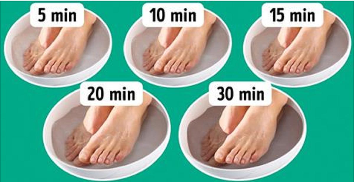 bain pour les pieds maison