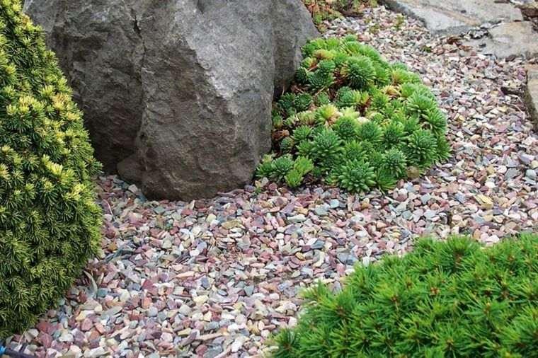 Le gravier d coratif un mat riau tr s tendance pour l for Amenagement jardin gravillon