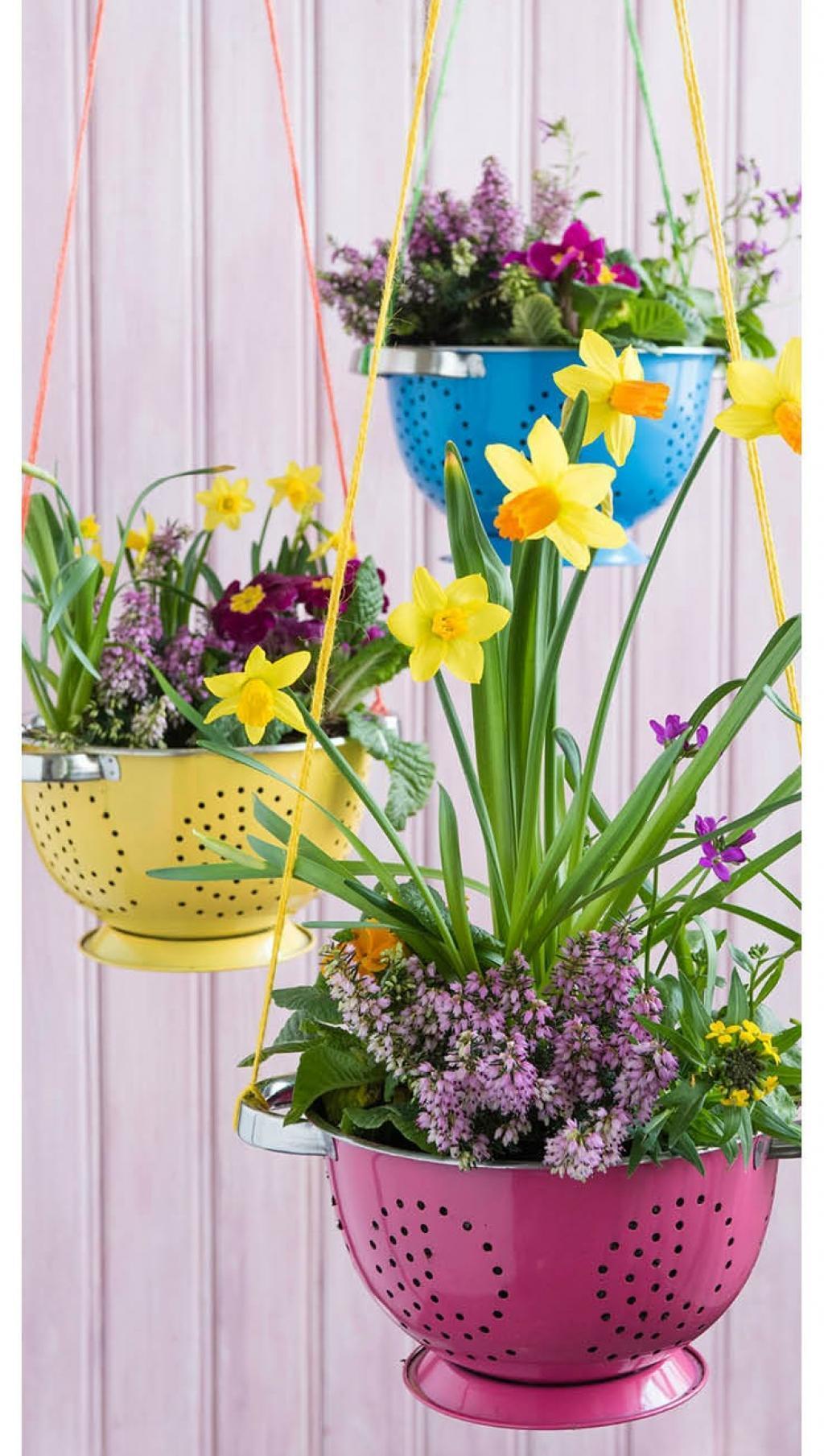 Décorer son jardin avec des accessoires de cuisine...beaucoup de style !