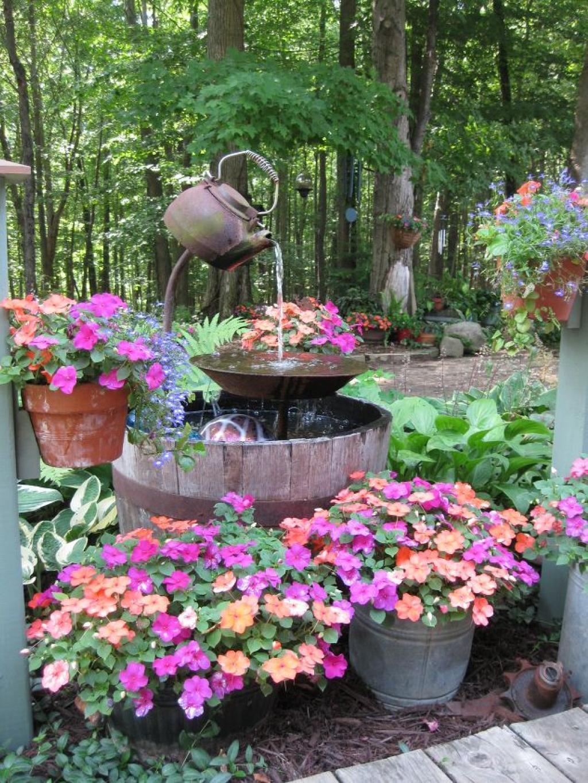 Decorer Son Jardin Avec Des Accessoires De Cuisine