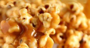 Pop corn caramel au beurre salé