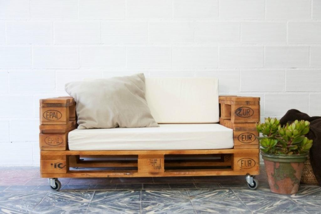 Canapés en palettes de bois. Les 20 plus beaux modèles !